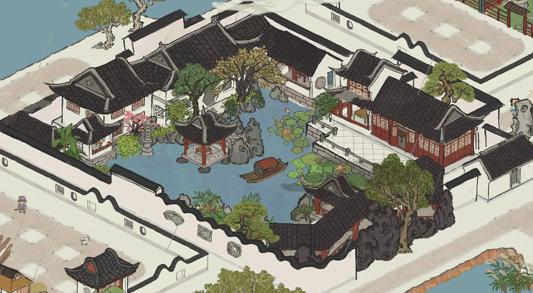 """回到明朝做""""规划"""",《江南百景图》如何营造想象中的城市?插图14"""
