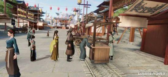 这款游戏能满足你对武侠江湖的诸多幻想插图3