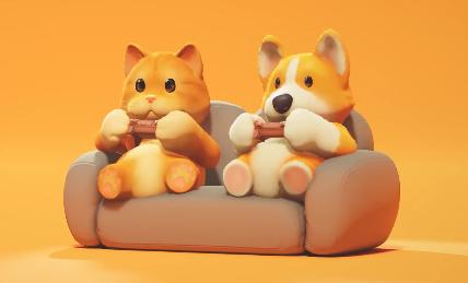 """我们采访了《Party Animals》制作组,他们需要更多的人手来做更酷的""""动物打群架""""插图"""
