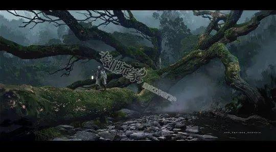 国产游戏大作《黑神话:悟空》早期概念图公开!插图1
